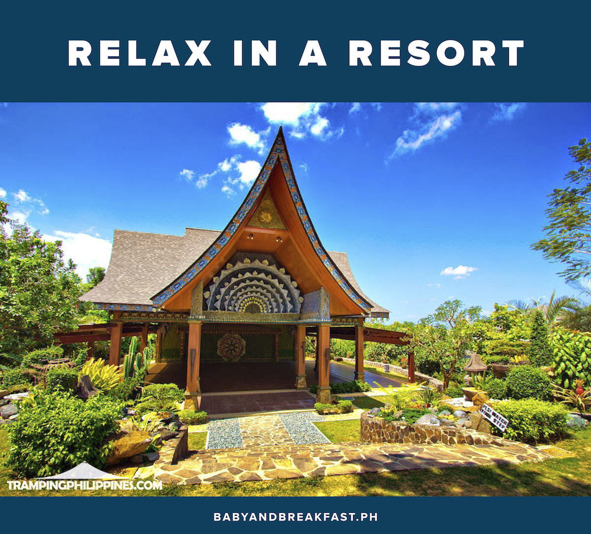 Relax in a resort