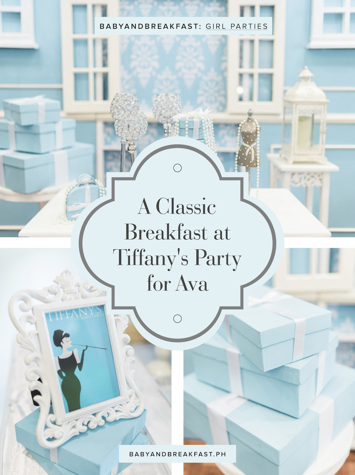Baby and Breakfast: Girl Parties A Classic Breakfast at Tiffany's Party for Ava