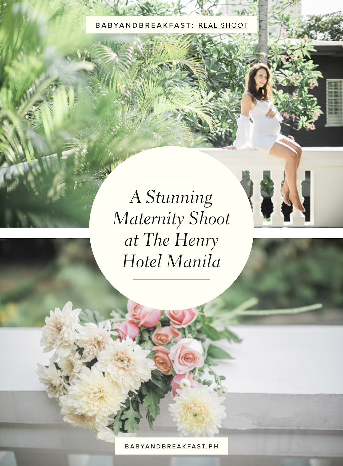 Baby and Breakfast: Real Shoot A Stunning Maternity Shoot at The Henry Hotel Manila