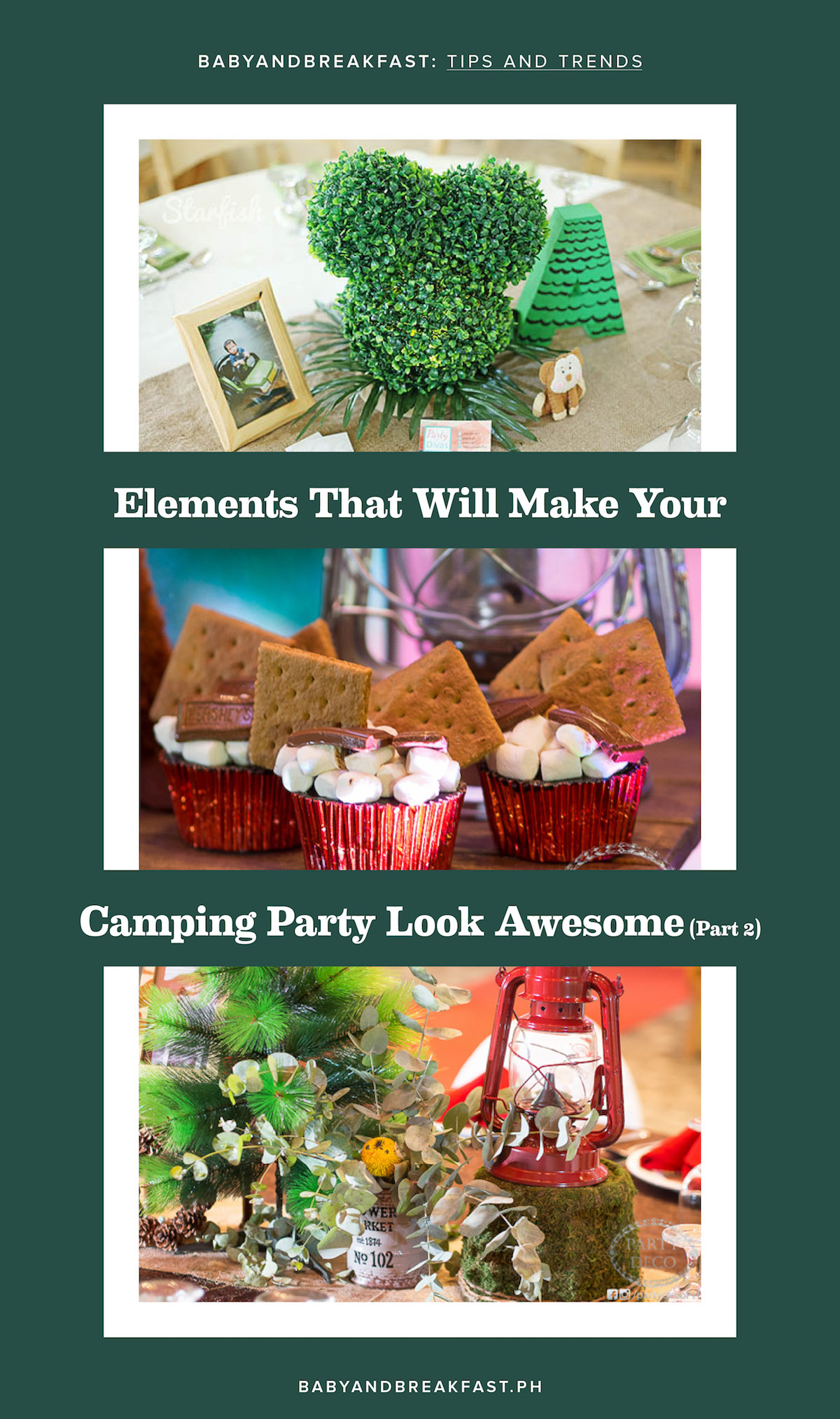 Elements of a Camping Party