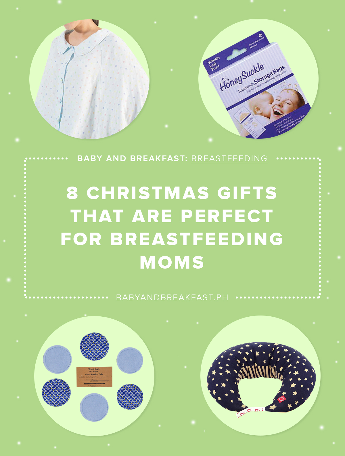 Baby and Breakfast: Breastfeeding 8 Christmas Gifts That Are Perfect for Breastfeeding Moms