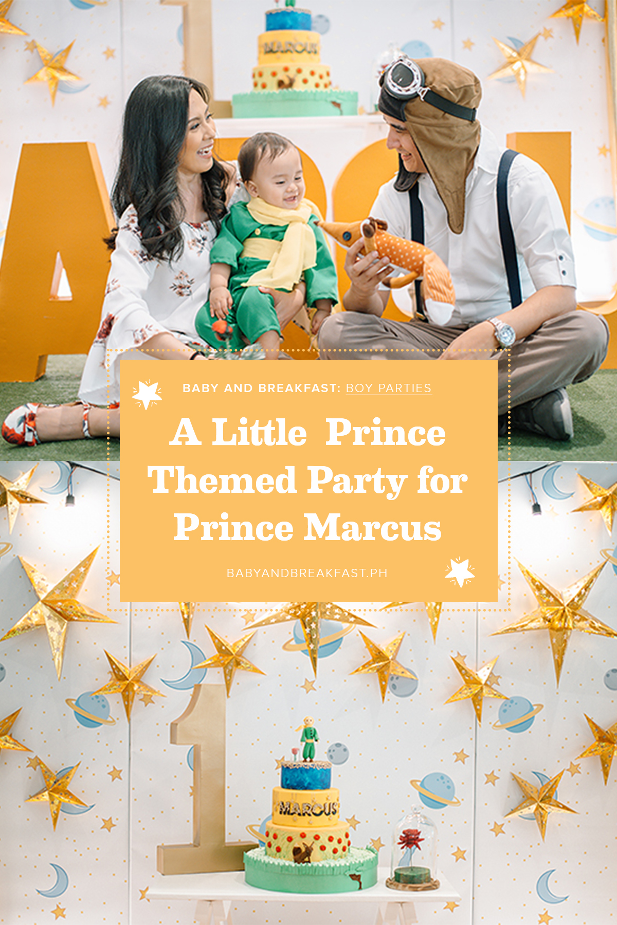 Baby and Breakfast: Boy Parties A Little Prince Themed Party for Prince Marcus