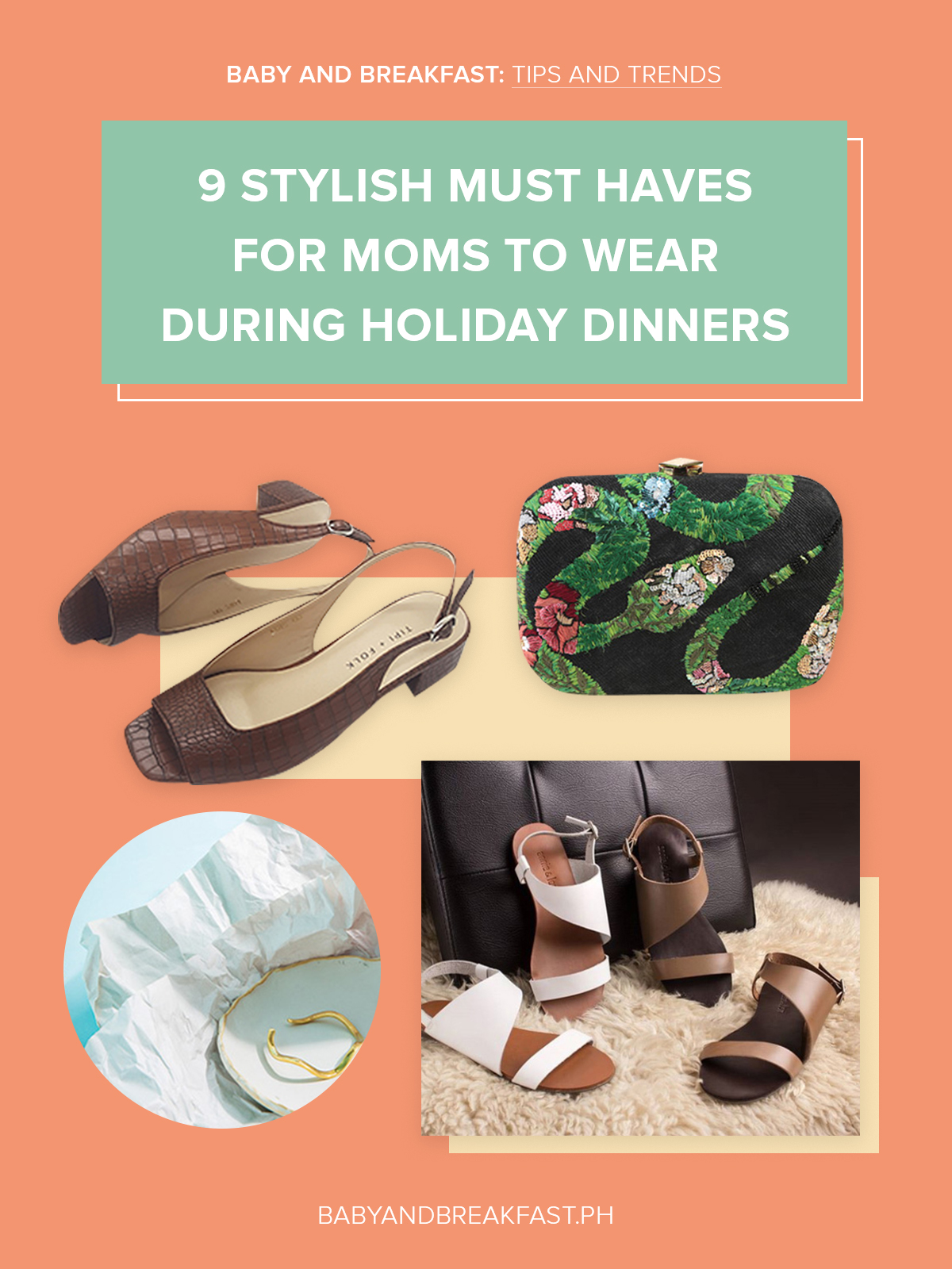 Baby and Breakfast: Tips and Trends 9 Stylish Must Have for Moms to Wear During Holiday Dinners