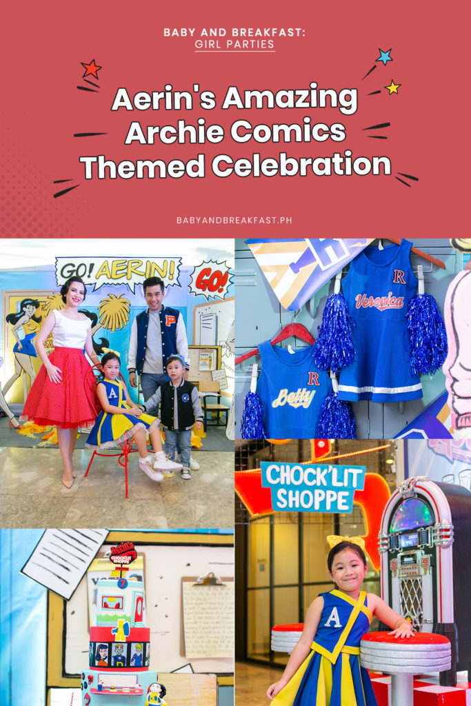 Baby and Breakfast: Girl Parties Aerin's Amazing Archie Comics Themed Celebration
