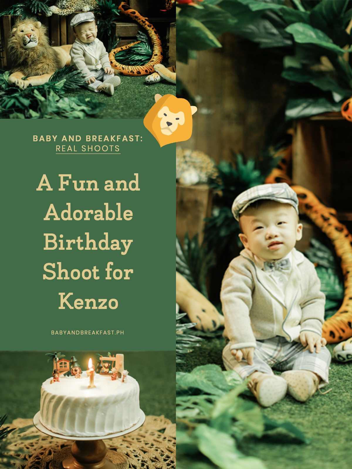 Baby and Breakfast: Real Shoots A Fun and Adorable Birthday Shoot for Kenzo