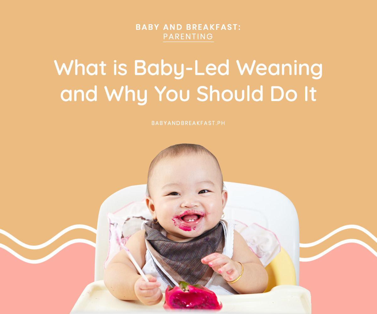Baby and Breakfast: Parenting What is Baby-Led Weaning and Why You Should Do It