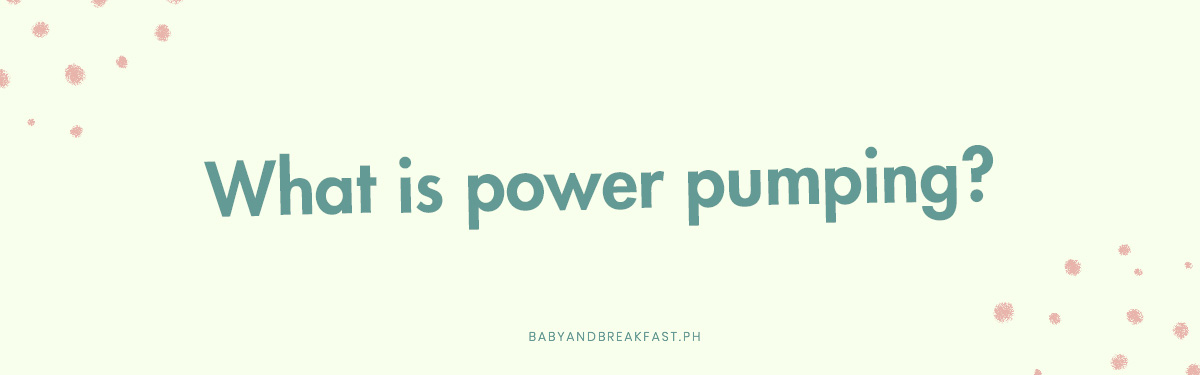 What is power pumping?
