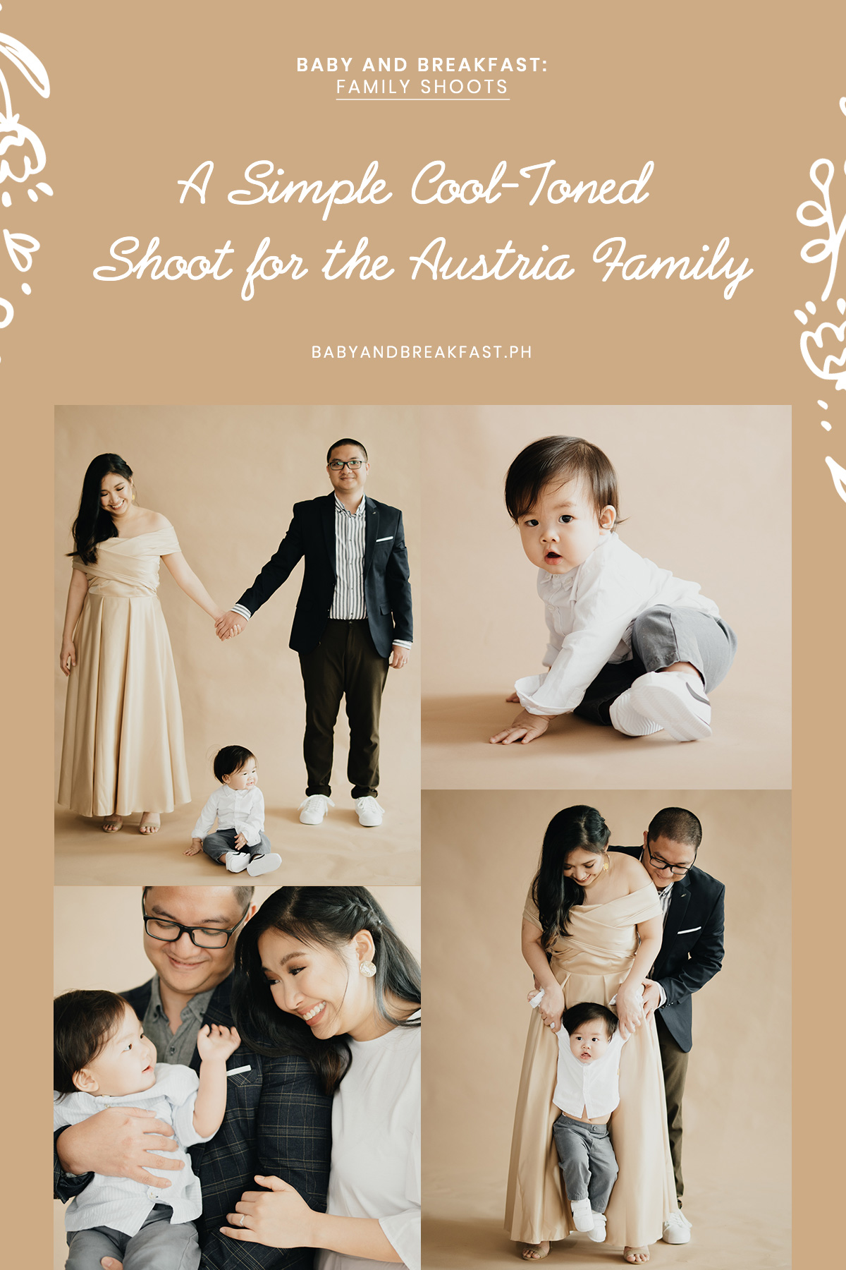 Baby and Breakfast: Family Shoots A Simple Cool-Toned Shoot for the Austria Family